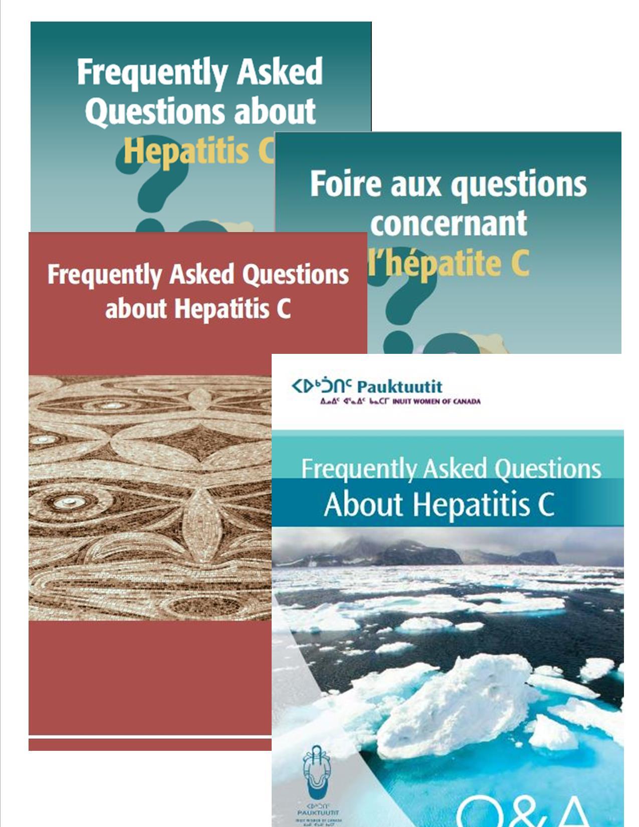 Multi-version pamphlet fan - FAQ vertical not bordered