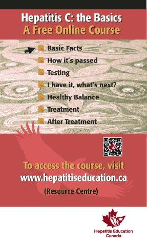 Hepatitis C The Basics (Indigenous) poster 2016